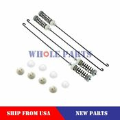 New W10780048 Washer Washing Machine Suspension Rod Kit 4 Pc For Whirlpool Ken