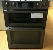 Samsung Chef Collection Nq70m9770dm 30 Inch Double Electric Microwave Wall Oven