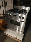 Heartland Metro Dual Fuel Model 3535 Natural Gas Electric Stove 30 W