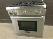 Thermador Prg304gh 30 Gas Pro Harmony Range 4 Burners Stainless