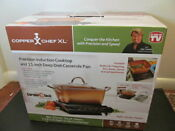 Copper Chef Xl Precision Induction Cooktop And 11 Inch Deep Dish Casserole Pan