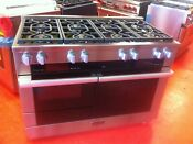 48 Miele Dual Fuel Range With Speed Oven Warmer Hr1954df New Showroom Model