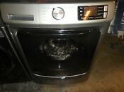 Maytag 4 5 Cu Ft High Efficiency Stackable Front Load Washer Metallic Slate