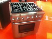 30 Thermador Pro Gas Range Prg305ph Used 2017 Model