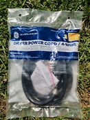 New Ge Dryer Power Cord 4wire 6 Wx09x10020