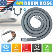 4m 13ft Long Universal Fit All Washing Machine Drain Discharge Hose Drain Hose