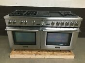 Thermador Prd606rcg 60 Dual Fuel Range Prof Grand 6 Burners Griddle Grill