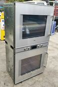 Gaggenau Bx481610 Stainless Steel Backed Full Glass Door Double Oven
