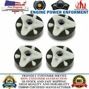 4 Pack 285753a Washer Coupler Coupling With Metal Insert For Whirlpool Kenmore