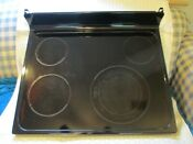 Wb62t10621 Ge Range Oven Main Top Glass Cooktop