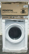 New Samsung Gas Dryer Dv42h5000gw Front Load W Pedestal Sells For 1158
