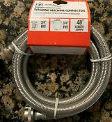 Washing Machine Hose Stainless Steel 3 4 X 3 4 X 48 Or 60 Free Shipping