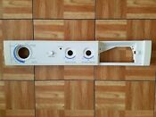Frigidaire Control Panel Front Load Washer