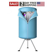 Panda Portable Ventless Cloths Dryer Folding Drying Machine With Heater New