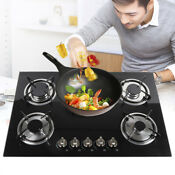 30 5 Burners Tempered Glass Cooktop Kitchen Cooker Natural Gas Lpg Cooktop