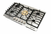 Brand 30 Stainless Steel Built In 5 Burners Stove Lpg Ng Gas Cooker Cooktops Us