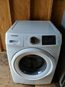 Samsung 4 2 Cu Ft 8 Cycle High Efficiency Front Loading Washer White Pre Owned