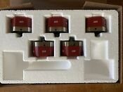 New Wolf 36 Red Knobs Package For Transitional Gas Cooktop Cg365c