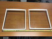 Frigidaire Parts Side By Side 36 Refrigerator 2 Used Fixed Glass Shelf 16x18