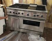 Thermador Prg486gdh Stainless Steel 48 In Gas Kitchen Ranges Silver