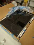 Ge Jp3530sj4ss 30 Electric Cooktop 4 Radiant Elements Ceramic Glass Surface
