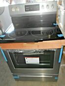 Frigidaire 30 In Smooth Surface 5 Element Steam Cleaning Electric Range