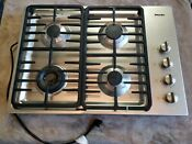 Miele 30 Inch Natural Gas Cooktop Great Condition