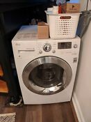Lg White Compact All In One Front Load Washer And Electric Ventless Dryer Combo