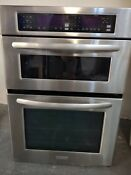 Kitchen Aid Kems308sss04 30 Built In Microwave Wall Oven Combo Stainless Steel