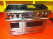 48 Viking Gas Range Vgr7486gss Used 2019 Model