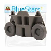 Ultra Durable W10195416 Lower Dishwasher Wheel Replacement By Blue Stars Ex