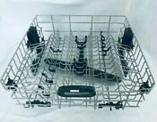 Clean Kitchenaid Whirlpool Dishwasher Upper Top Dish Rack W10056270 W10728863