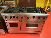 48 Viking Gas Range Vgic4856qss Used
