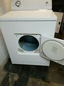 Natural Gas Clothes Dryer Whirlpool 9 Cubic Feet With Warranty