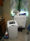 Magic Chef Washer And Haier Dryer