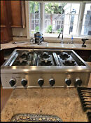 Thermador Professional Stainless Natural Gas Cooktop 36 Model Pcs366us