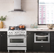 Zline 30 Range W Gas Stove And Gas Oven In Stainless Steel Rg30 Ln