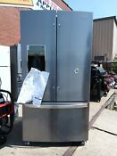 Whirlpool 26 8 Cu Ft French Door Refrigerator With Dual Ice Maker Stainless