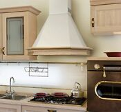 Range Hood Wall Mounted Wood Frame 36 940 Cfm Made In Italy