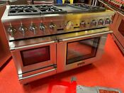 48 Thermador Dual Fuel Range With Steam Oven Prd48jdsgu 12 Used 12 2018