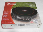 Nuwave Precision Induction Portable Single Cooktop Model 30121 1300 Watts New