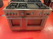 48 Thermador Professional Gas Range Prg486wdh 02 Used 2019