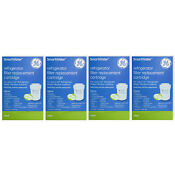 4 X Genuine Ge Mwf Smartwater Fridge Water Filter Replacement Cartridge