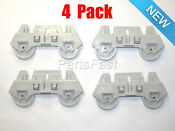 303991 4 Pack Dishwasher Lower Rack Rollers For Whirlpool Kenmore Roper