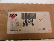 New Jenn Air Electric Cook Top Trim Front Part 74010841