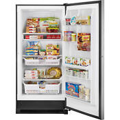 20 5 Cubic Foot Kenmore Elite Upright Freezer Stainless With Lock