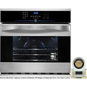 Kenmore Elite 30 Electric Convection Self Clean Single Wall Oven 48083 2399