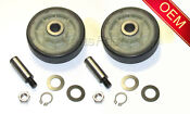 Maytag Electric Dryer Drum Roller Shaft Kit Oem See Model Fit List Below