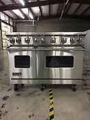 Viking Vgr7486g 48 Sealed Burner Gas Range