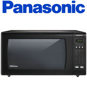 Panasonic Nn Sn733b 1 6 Cu Ft Countertop Microwave Oven With Inverter Technolo